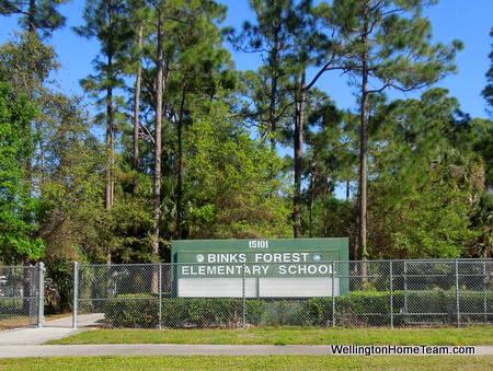 Binks Forest Elementary School Wellington Florida
