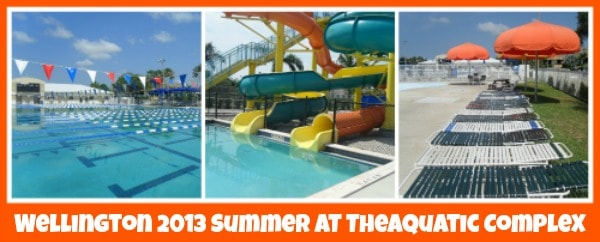 Wellington Florida Aquatic Complex Summer 2013
