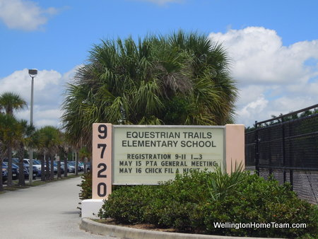 Equestrian Trails Elementary School Wellington Florida