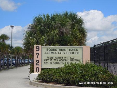 Equestrian Trails Elementary School Wellington Florida