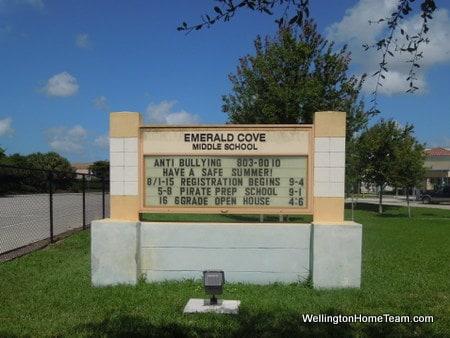 Emerald Cove Middle School Wellington Florida