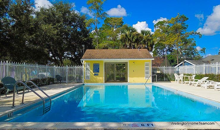 Tree Tops Homes for Sale in Wellington Florida - Community Swimming Pool