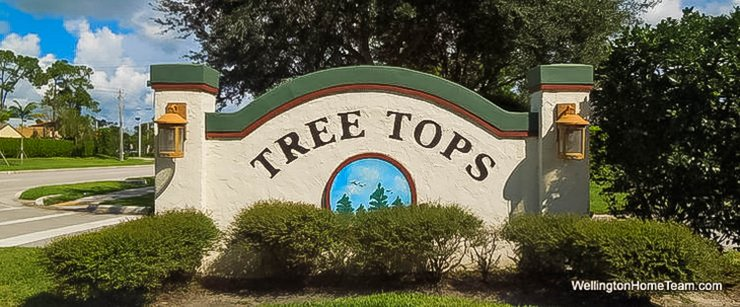 Tree Tops Recent Home Sales in Wellington Florida