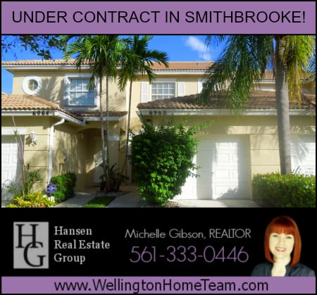 Smithbrooke Townhome for Rent in Lake Worth Under Contract