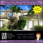 Smithbrooke Townhome Rented! 6960 Thicket Trace