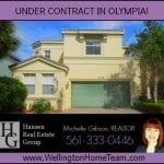 Olympia Home for Sale in Wellington | Now Under Contract!