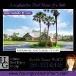 Loxahatchee Pool Home for Sale - Under Contract - 14194 88th Place North