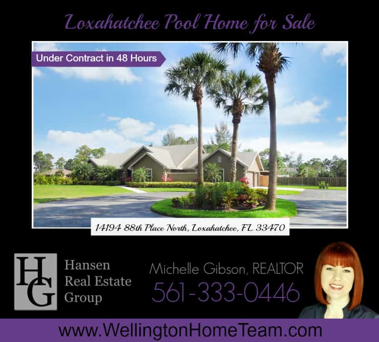 Wellington home team hansen real estate group inc march 2015 Wellington swimming pool opening times