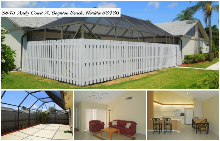 Barrwood Villa for Sale | 8845 Andy Ct A, Boynton Beach, Florida 33436 MLS# RX-10128125