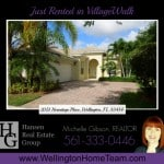 VillageWalk Home RENTED! 2051 Hermitage Place