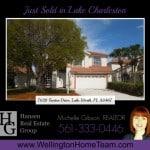 Lake Charleston Home SOLD! 7628 Trenton Drive, Lake Worth, Florida 33467