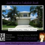 Lakefield South Home RENTED! 2578 Country Golf Drive