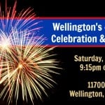 Wellington's Forth of July Celebration & Fireworks - July 4th, 2015
