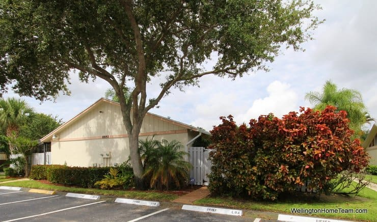 8851 Marge Court #C Boynton Beach FL - Barrwood Courtyard Villa for Sale