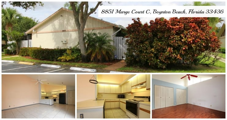 Barrwood Villa for Sale | 8851 Marge Court #C, Boynton Beach, Florida 33436 MLS# RX-10155441