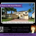 Palm Beach Plantation Home RENTED! 198 Palm Beach Plantation Blvd