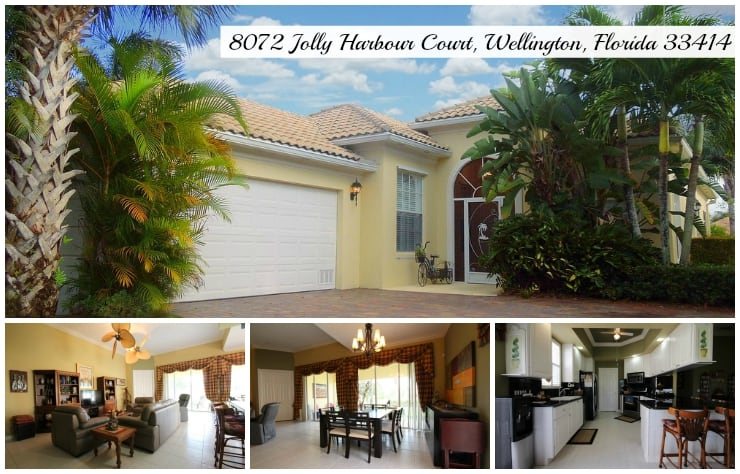 VillageWalk Home for Rent | 8072 Jolly Harbour Court, Wellington, Florida 33414 MLS# RX-10156770