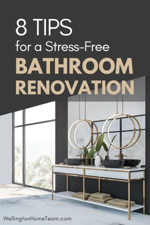 8 Tips for a Stress-Free Bathroom Renovation