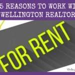 Should I use a REALTOR to find a Rental in Wellington?