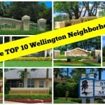 What were the TOP 10 Wellington Neighborhoods in 2015?