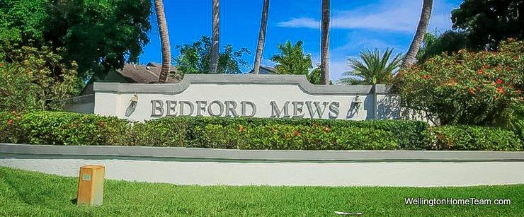 Bedford Mews Wellington Florida Real Estate & Homes for Sale