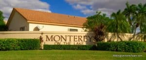 Monterey on the Lake Wellington Florida Real Estate and Homes for Sale