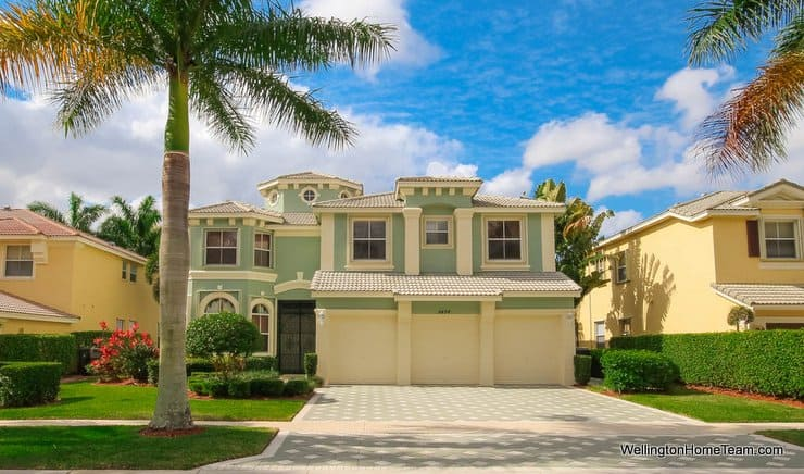 Olympia Home for Sale in Wellington Florida - 9494 Worswick Court