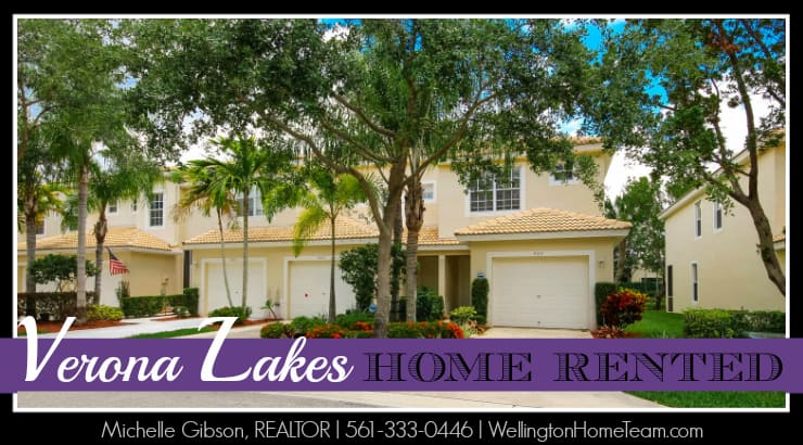 Verona Lakes Townhome RENTED - 9917 Porta Leona Lane, Boynton Beach, Florida 33472