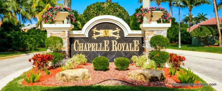 Chapelle Royale at Versailles Homes for Sale in Wellington Florida