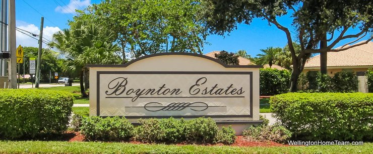 Boynton Estates Boynton Beach Florida Real Estate and Homes for Sale