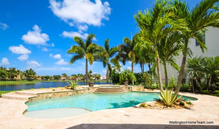 Olympia Pool Home for Sale in Wellington Florida - 2218 Stotesbury Way