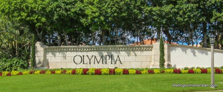 Olympia Short Sale Homes for Sale in Wellington Florida