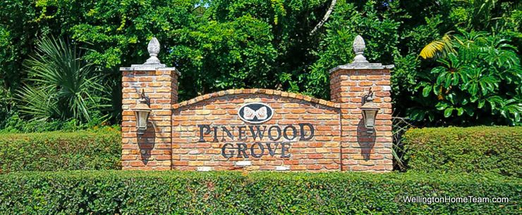 Pinewood Grove Wellington Florida Real Estate and Homes for Sale