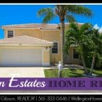 Boynton Estates Home RENTED! 96 Citrus Park Lane