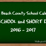 Palm Beach County School Calendar for 2016-2017