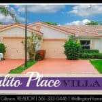 Sausalito Place Villa SOLD! 61 Sausalito Place, Boynton Beach, Florida 33436