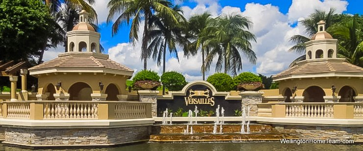 Versailles Recent Home Sales in Wellington Florida