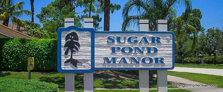 Sugar Pond Manor Wellington Florida Site Plan