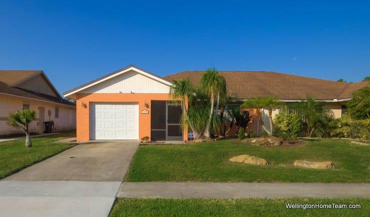 12491 Guilford Way, Wellington, Florida 33414 MLS# RX-10284454 South Shore Villa for Rent