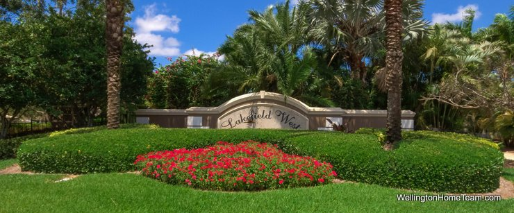 Lakefield West Wellington Florida Real Estate & Homes for Sale