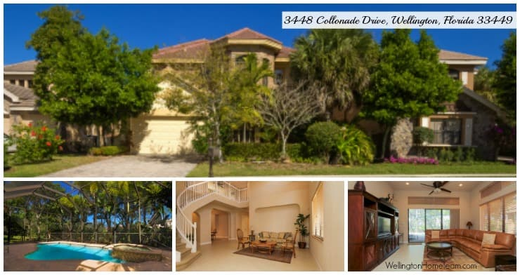 Versailles Luxury Pool Home for Rent 3448 Collonade Drive, Wellington, Florida 33449 MLS# RX-10307218