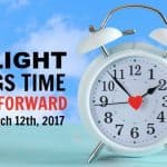 Daylight Savings Time | Spring Forward March, 12th, 2017