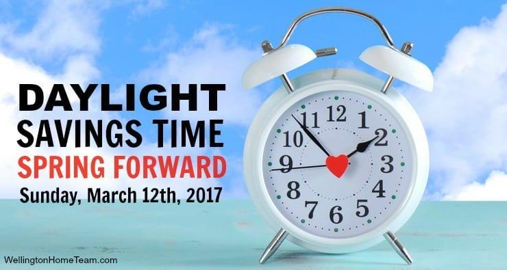 Wellington Florida Daylight Savings Time - Spring Forward March, 12th, 2017