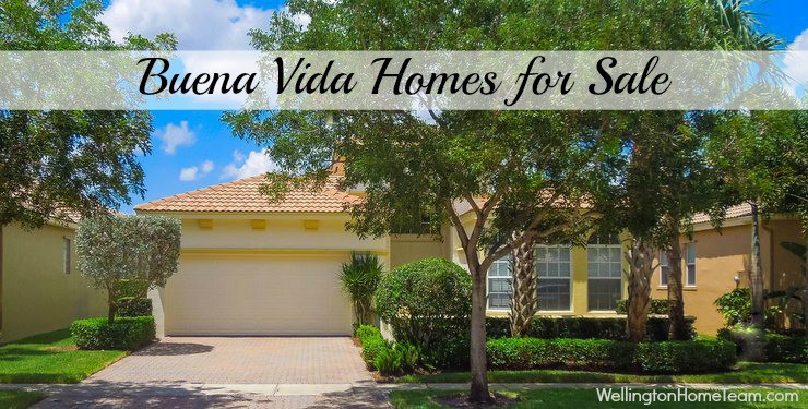 Buena Vida Homes for Sale in Wellington Florida 33414