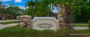 Pinewood Manor Homes for Sale in Wellington Florida and Real Estate