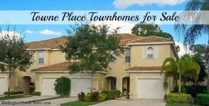 Towne Place Townhomes for Sale in Wellington Florida 33414