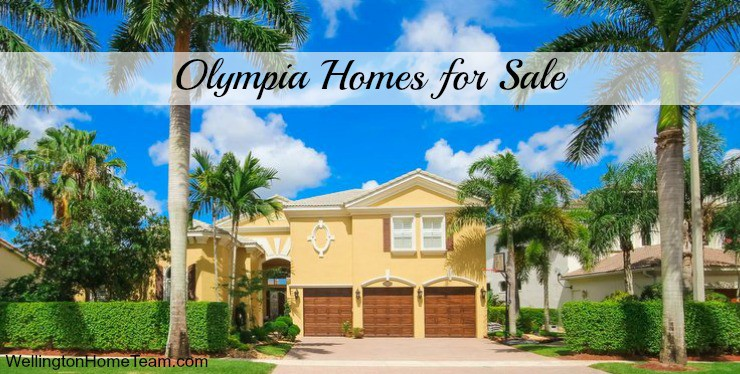 Olympia Homes for Sale in Wellington Florida 33414