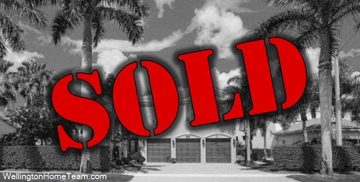 What Homes have SOLD in Wellington Florida?