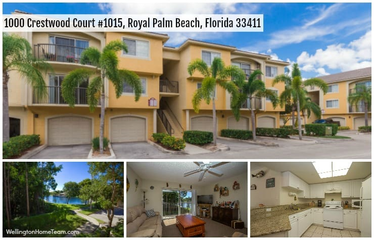 Grand View at Crestwood Condo for Sale in Royal Palm Beach Florida - 1000 Crestwood Ct 1015