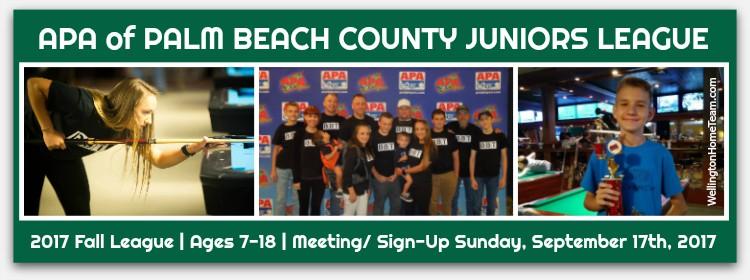 APA of Palm Beach County Juniors League - Fall 2017
